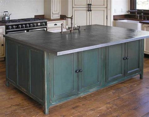 Metallic Countertop by Metal Countertops Choices And Considerations