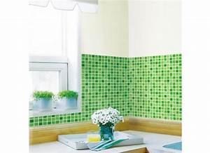 Tapeten Für Bad Und Küche : tapete selbstklebend dekofolie mosaik fliesen gr n bad k che www 4 ~ Markanthonyermac.com Haus und Dekorationen