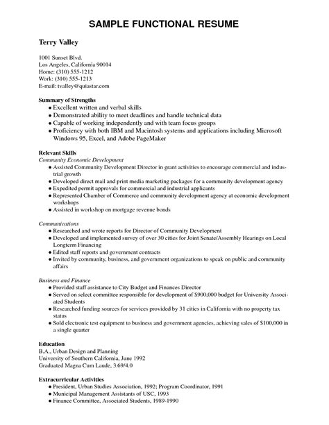 resume title for computer science freshers general resume