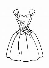 Coloring Pages Barbie Printable Princess Gown Makeup Olds sketch template