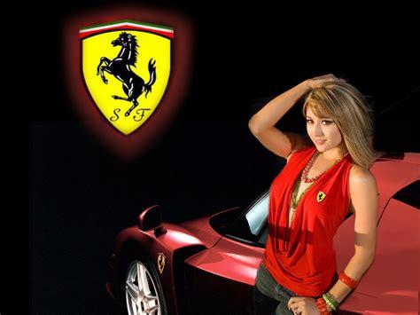 ferrari  supercars  sexy women babes girls
