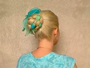 Romantic braided hairstyles for long straight hair tutorial Cute easy elegant scarf updo 2011