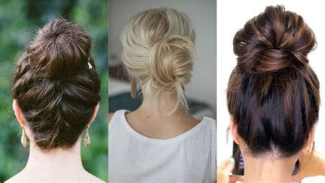 Six Different Ways To Upgrade Your Hair Bun For A Stylish Look Latest Cool Short Haircuts How To Change Your Hair Color From Dark Brown Blonde Make A Low Bun With Long Semi Formal Hairstyles For Round Faces Flat Oval Face Kids Braiding Styles Beads French Braid Wet Curly Can I Dye My Extensions Red