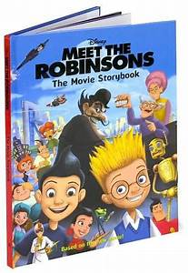 Meet The Robinsons The Movie Storybook By Barbara
