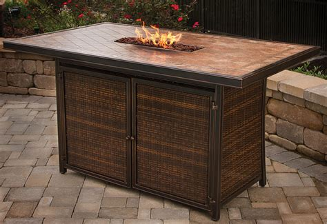agio balmoral fire table fire pits agio international