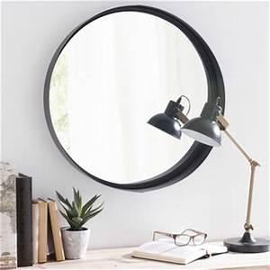 Miroir Metal Noir : miroirs ronds maisons du monde ~ Teatrodelosmanantiales.com Idées de Décoration