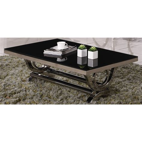 Beau Table Basse Blanc Laque Fly #3  Indogate Table Salle