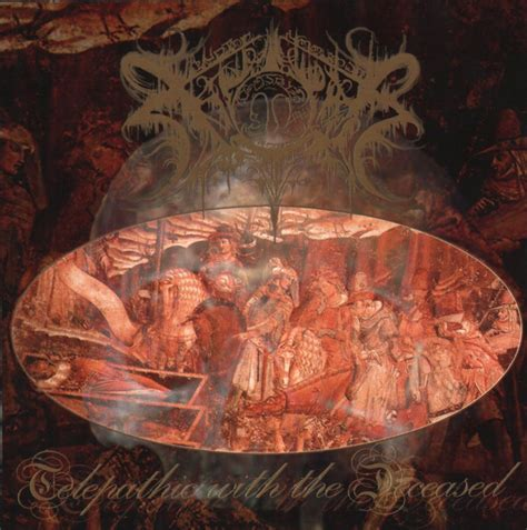 """FS 003 Xasthur """"Telepathic With the Deceased"""" 2XLP"""