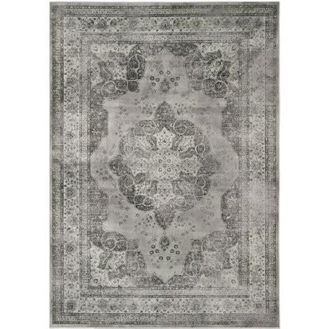 distressed area rug shop safavieh vintage kerman gray indoor distressed area
