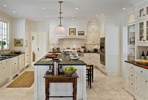 white kitchen travertine floor crisp architects farmhouse kitchen new york by 1415