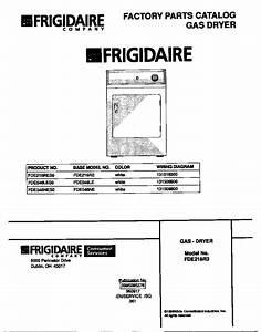 Frigidaire Frigidaire Gas Dryer