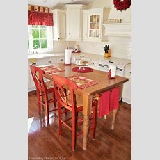 Turn Your Kitchen Table Into A Farmhouse Island