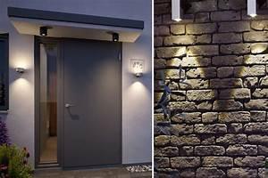 Fassadenbeleuchtung Außen Led : gartenbeleuchtung welche au enlampen sind die richtige wahl paulmann licht ~ Markanthonyermac.com Haus und Dekorationen