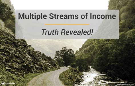 multiple streams  income truth revealed
