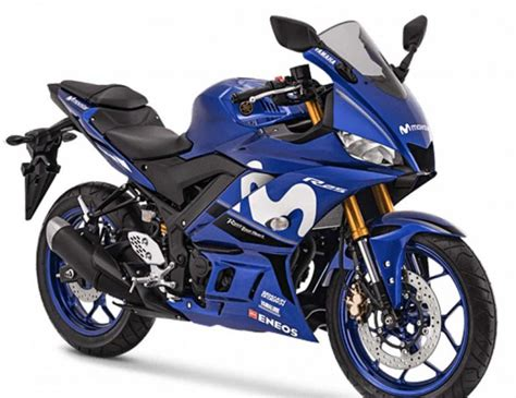 Yamaha R25 2019 2019 yamaha yzf r25 gets special edition motogp livery in