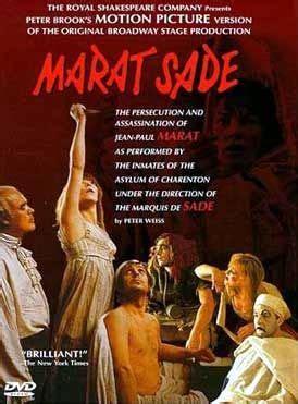 Marat/Sade (With images)   Sade, Film, The marquis de sade