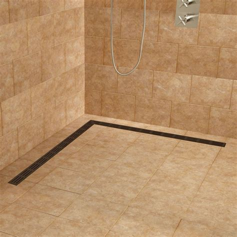 Dusche Mit Ablaufrinne by Slim And Modern Shower Drain Systems For The Minimalist In You