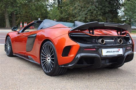 Mso Volcano Orange Mclaren 675lt Spider For Sale At £