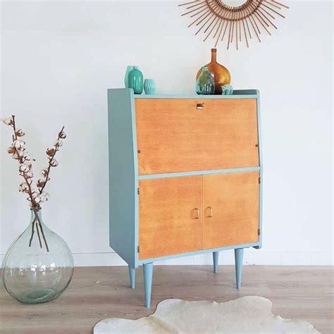 secr 233 taire design r 233 tro bleu bois vintage r 233 nov 233 papier