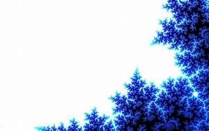 Blue White Abstract Flower Artwork Wallpaper 4 #2205 ...