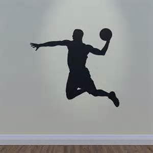 Basketball wall decal slam dunk for Basketball wall decals