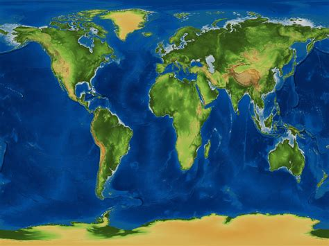earth world map springfiles