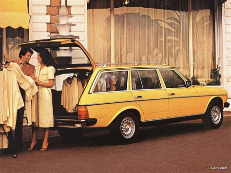 Mercedes-Benz E-Klasse Estate (S123) 1978–86 wallpapers ...