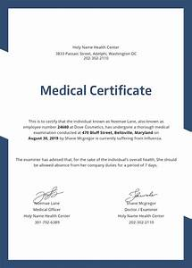 28 medical certificate templates in pdf free premium With medical certificates templates