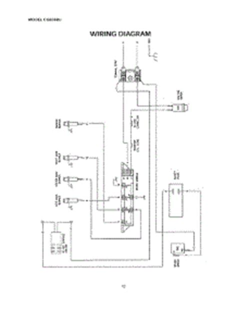 Traeger Smoker Wiring Diagram by Parts For Thermador Cgb36ru Grill Smoker