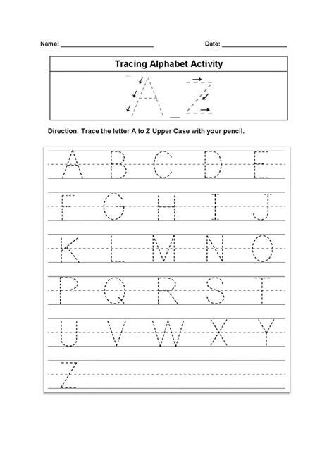 printable missing alphabet letter worksheets letter