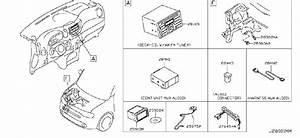 Nissan Cube Wire Earth Bonding  Audio  Antenna  Unit