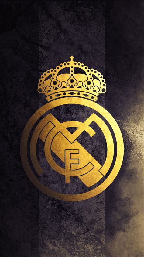 Founded on 6 march 1902 as madrid football club. Real Madrid - Logo Wallpaper by Kerimov23 on DeviantArt