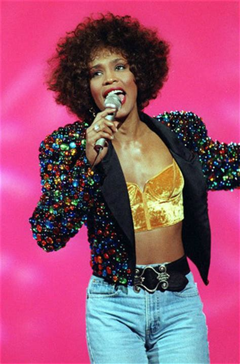 whitney houston celebrities  died young photo