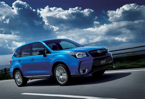 subaru forester subaru releases sti enhanced forester ts in japan