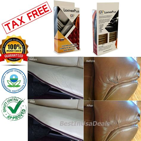 Leather Reconditioning by Leather Repair Kit Filler Compound Color Restorer Couches