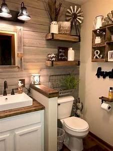 59, Best, Farmhouse, Wall, Decor, Ideas, For, Bathroom