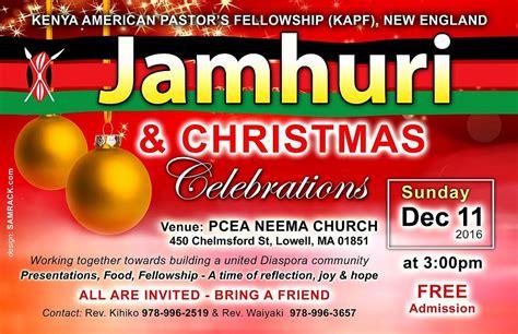 pcea cuisine jamhuri celebrations kenya pastor s