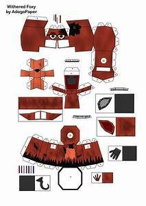 search results for fnaf template calendar 2015 With papercraft letters