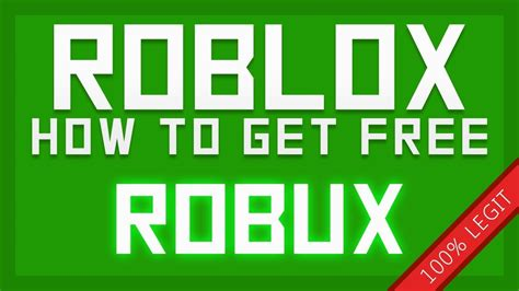 how to get free robux roblox youtube