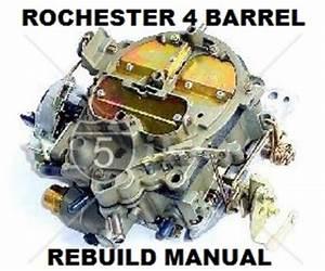 Holden Chev Rochester Quadrajet Carby Rebuild Master