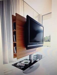 Rotating tv stand   Narrow Living Room in 2019   Swivel tv ...  Tv