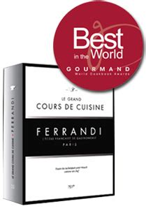 cours de cuisine ferrandi cooking book grand cours de cuisine ferrandi