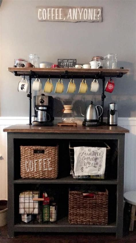 See more of flow specialty coffee bar & bistro on facebook. Awesome coffee bar ideas for small spaces // countertop coffee bar ideas #coffeebar # ...