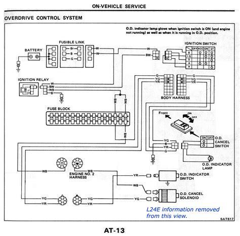 Cd4e Wiring Diagram by L4n71b Od At 1983 84 Nissandiesel