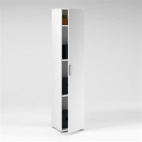 meuble cuisine largeur 30 cm colonne 1 porte longueur 35 x hauteur 175cm blanc
