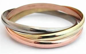 Bague 3 Ors Cartier : bracelet cartier 3 anneaux 3 ors 41 bijoux anciens ~ Carolinahurricanesstore.com Idées de Décoration