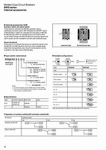 Molded Case Circuit Breakers Bw0 Series