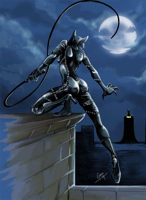 Catwoman On Pinterest