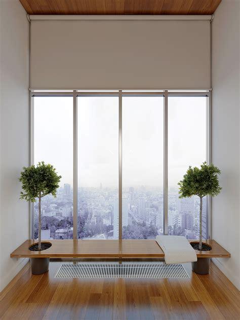 high rise apartment  stunning minimalist interior