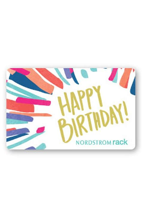 nordstrom rack gift card card design ideas striking colorful birthday gift cards